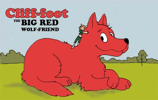 2012 AU Childrens Books Contest:  Crackle & Muddypaws (Clifford the Big Red Dog)