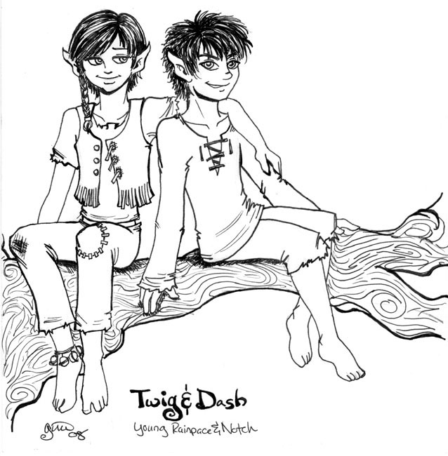 2008 Age-Swap Contest: Twig & Dash (young Rainpace & Notch, RTH 2268)