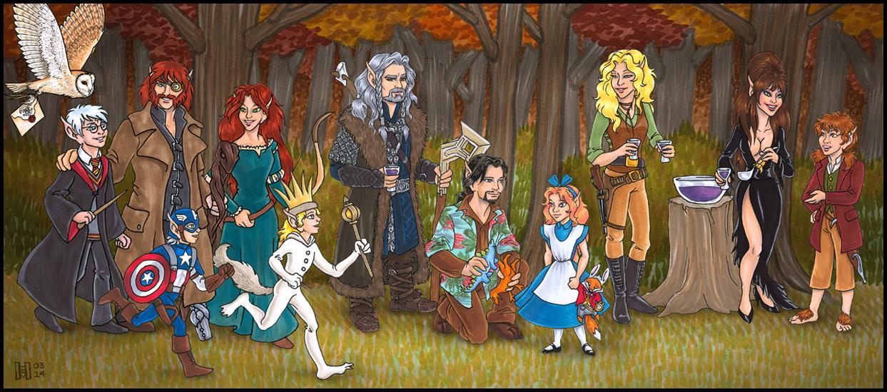 River Twine Halloween (2013 AU Costume Party Challenge)