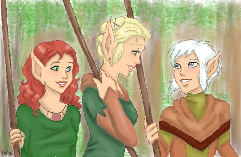 Going Fishing (Evervale, Windsong & Newt in RTH 2509) (2013 Treasure Hunt)