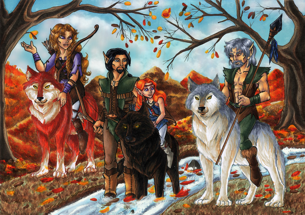 Brightwood, Farscout, Copper & Blacksnake (Howls for Holly)