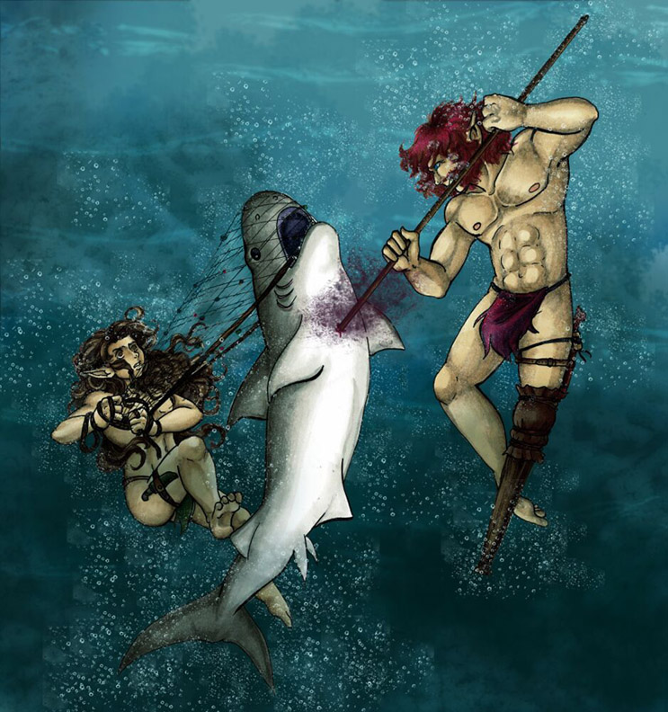 Shark Attack (2013 Water Works Contest)