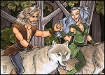 New Life, New Love Contest:  Wolfmane & Dove