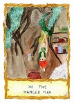 RTH Tarot:  Foxtail as The Hanged Man (2013 art/fic trade)