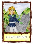 2013 Secret Santa:  Pathmark as the Knight of Cups