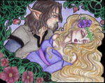Myths, Legends & Fairy Tales Contest 2008:  Sleeping Beauty & her Prince